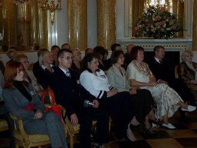 Gala na Zamku Królewskim w Warszawie